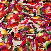 Ткани ручной работы. Ярмарка Мастеров - ручная работа Вискоза с шелком  BLUMARIN .. Handmade.