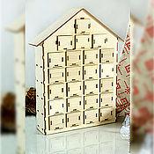 Материалы для творчества handmade. Livemaster - original item Advent calendar 24 box. Handmade.