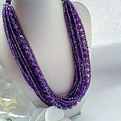 Украшения handmade. Livemaster - original item Necklace made of natural amethyst