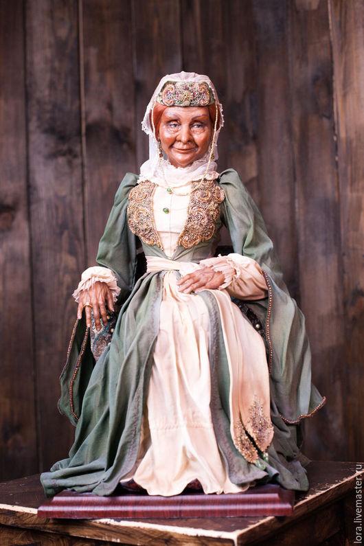 Коллекционные куклы ручной работы. Ярмарка Мастеров - ручная работа. Купить Старая грузинка Нино. Handmade. Комбинированный, текстиль, кружево