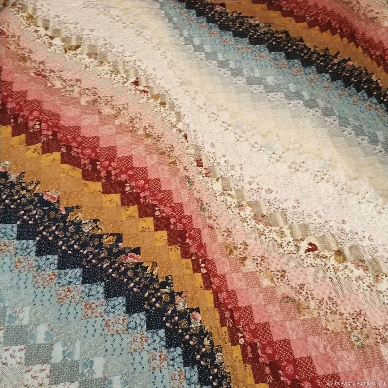Подарок женщине на 8 марта ПЕСНЯ лоскутное одеяло барджелло, Покрывала, Москва,  Фото №1