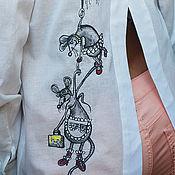 Одежда handmade. Livemaster - original item Original sports blouse