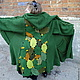 Верхняя одежда ручной работы. Ярмарка Мастеров - ручная работа. Купить пальто ЛИСТОПАД. Handmade. Разноцветный, необычное пальто