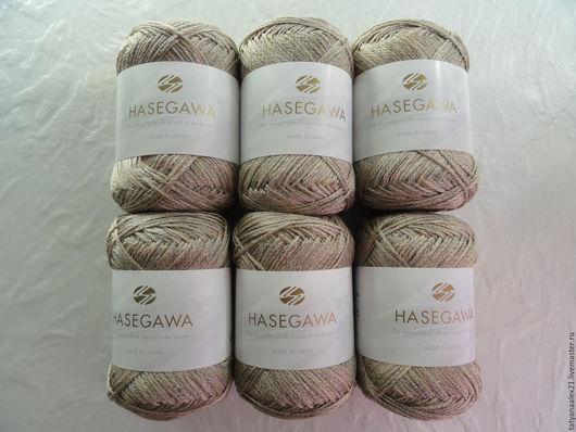 Вязание ручной работы. Ярмарка Мастеров - ручная работа. Купить Пряжа из РАМИ Hasegawa LARGO 1200 MOON ROCK. Handmade.