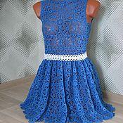 Одежда ручной работы. Ярмарка Мастеров - ручная работа Платье из мотивов. Handmade.