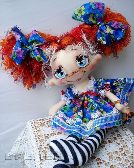 Сказочные персонажи ручной работы. Ярмарка Мастеров - ручная работа. Купить Текстильная кукла Улька-фея монеток удачи.Интерьерная кукла.. Handmade.