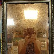 Для дома и интерьера ручной работы. Ярмарка Мастеров - ручная работа Состаренное зеркало в спб медное по старинной технологии. Handmade.