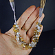 Колье, бусы ручной работы. Колье на вощеном шнурке с кристаллами Сваровски в ассортименте. МЕГА распродажа. Интернет-магазин Ярмарка Мастеров.