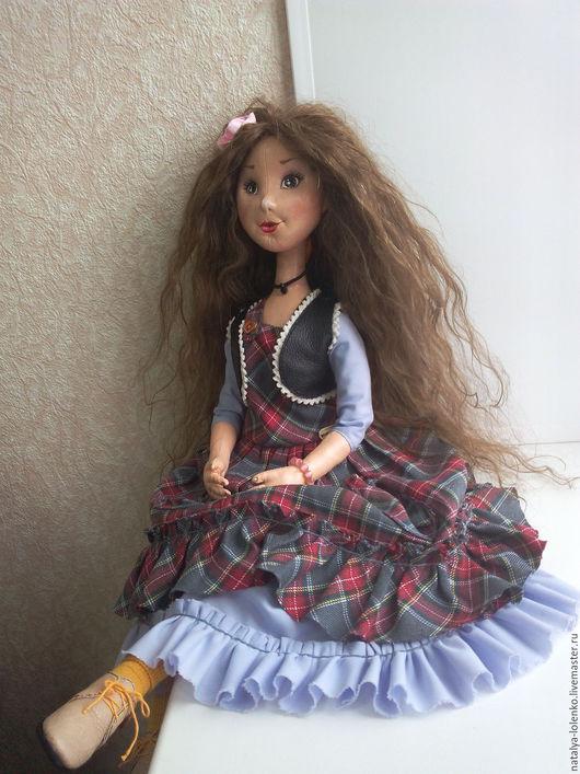 Коллекционные куклы ручной работы. Ярмарка Мастеров - ручная работа. Купить Текстильная кукла Маруся. Handmade. Комбинированный, текстильная кукла