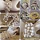 Авторские украшения из натурального жемчуга жемчужные браслеты купить в Москве красивая модная бижутерия на заказ