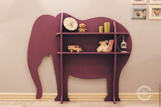 Стеллаж `Слон` несомненно впишется в Ваш интерьер и будет радовать своей непринужденностью и оригинальностью.