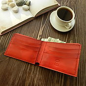 Сумки и аксессуары handmade. Livemaster - original item Leather wallet/ leather Wallet/ Wallet. Handmade.