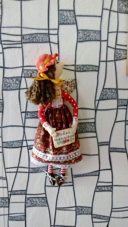 Коллекционные куклы ручной работы. Ярмарка Мастеров - ручная работа. Купить Девочка встречалочка. Handmade. Омск, на заказ, кружево