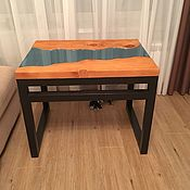 Для дома и интерьера handmade. Livemaster - original item Table river from solid cedar Samish. Handmade.