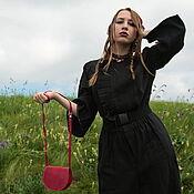 Одежда handmade. Livemaster - original item Black Linen Jumpsuit «Nadja». Handmade.