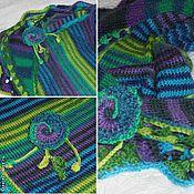 Аксессуары handmade. Livemaster - original item The scarf is Thin, warm, colorful. Handmade.