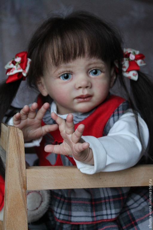 Куклы-младенцы и reborn ручной работы. Ярмарка Мастеров - ручная работа. Купить Малышка Грета. Handmade. Молд фридолин