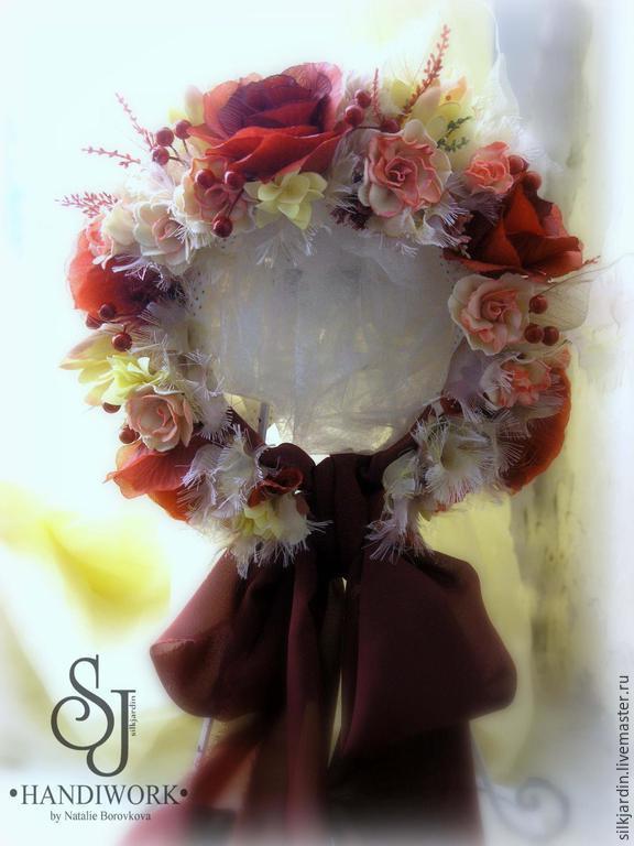 Шапочка из цветов