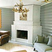 Для дома и интерьера handmade. Livemaster - original item A fireplace with a deer. Handmade.