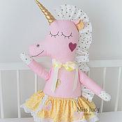 Куклы и игрушки handmade. Livemaster - original item Soft toy squid Unicorn. Handmade.