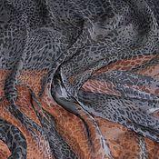 """Ткани ручной работы. Ярмарка Мастеров - ручная работа Шелк шифоновый """"Roberto Cavalli"""", Италия. Handmade."""