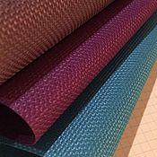 handmade. Livemaster - original item Roll-up curtains plain Matting. Handmade.
