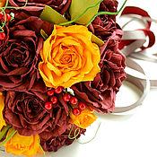 Свадебный салон ручной работы. Ярмарка Мастеров - ручная работа Букет невесты ОСЕННЯЯ СКАЗКА. Handmade.