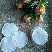 Одежда handmade. Livemaster - original item Inserts in the bra for nursing mothers and pregnant women reusable.. Handmade.