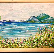 Картины и панно handmade. Livemaster - original item Bright landscape.. Handmade.