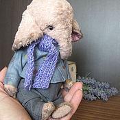 Куклы и игрушки ручной работы. Ярмарка Мастеров - ручная работа Слоник Мо малышка. Handmade.