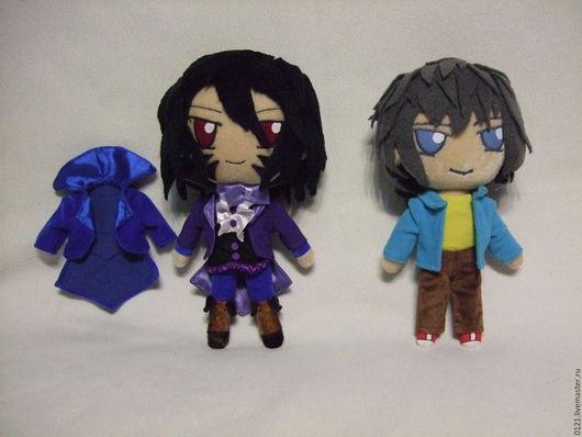 Коллекционные куклы ручной работы. Ярмарка Мастеров - ручная работа. Купить Игрушки аниме по рисунку. Handmade. Аниме игрушки, фетр