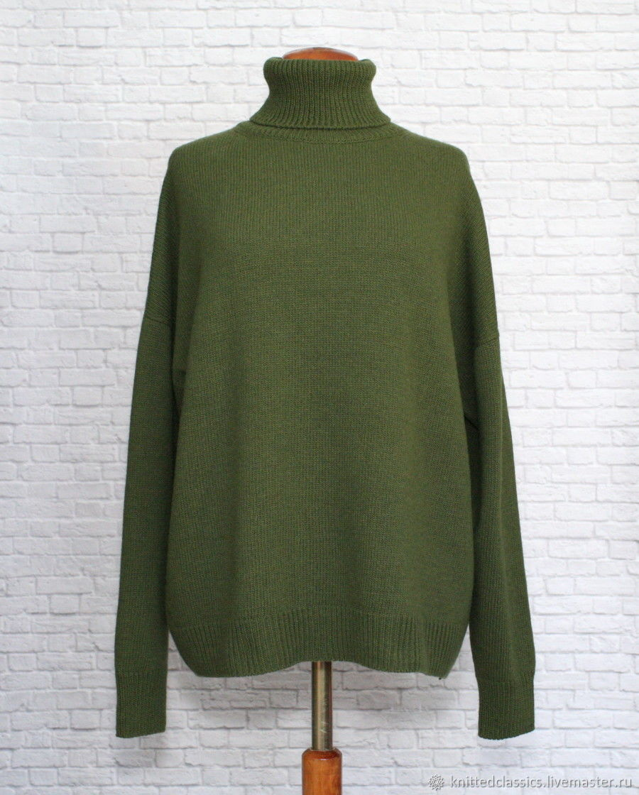 sweaters:oversize sweater dropped shoulder cashmere softwood, Sweaters, Permian,  Фото №1