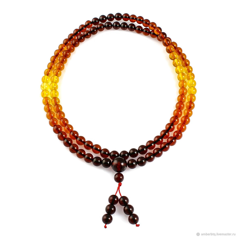 Rosary from NAT. amber 108 beads, Rosary bracelet, Kaliningrad,  Фото №1