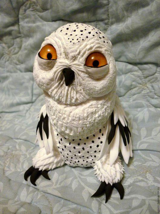 Куклы и игрушки ручной работы. Ярмарка Мастеров - ручная работа. Купить Снежная сова-тотем. Handmade. Белый, сова в подарок