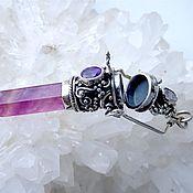 Украшения handmade. Livemaster - original item Pendant-Gao crystal fluorite. Handmade.
