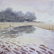 Картины и панно handmade. Livemaster - original item Watercolor painting