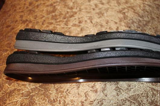 """Другие виды рукоделия ручной работы. Ярмарка Мастеров - ручная работа. Купить Подошва  для  обуви""""СТАТУС"""". Handmade. Черный, подошва для сапог"""