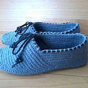 Обувь ручной работы handmade. Livemaster - original item Home Slippers ( wool ). Handmade.