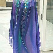 Одежда handmade. Livemaster - original item Manto de batik