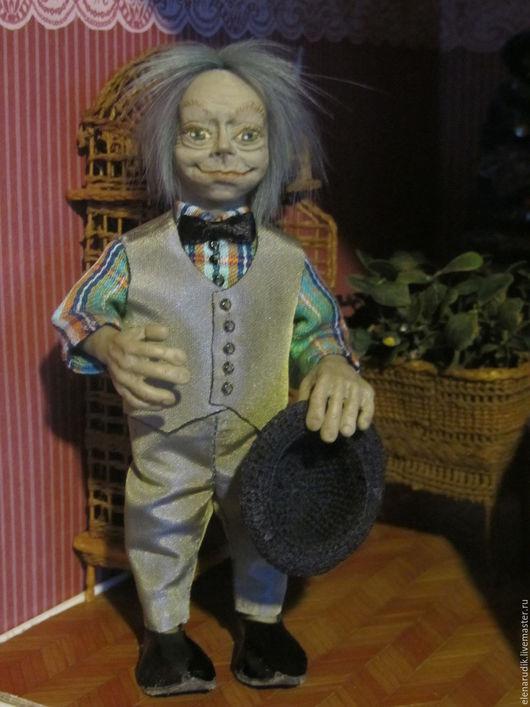 Сказочные персонажи ручной работы. Ярмарка Мастеров - ручная работа. Купить Анчутка. Handmade. Кукла ручной работы, кукла из пластики