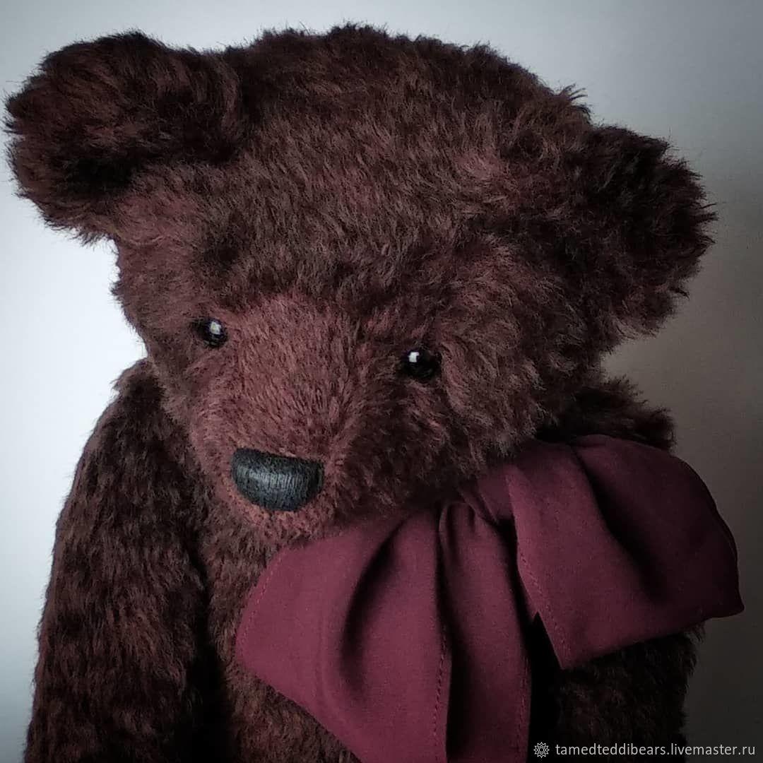 Bear with Howler 43 cm Mathis, Teddy Bears, Varnavino,  Фото №1