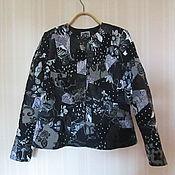 """Одежда ручной работы. Ярмарка Мастеров - ручная работа женский жакет """"Ночная поляна"""". Handmade."""