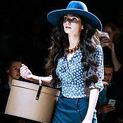 """Одежда ручной работы. Ярмарка Мастеров - ручная работа Блузка """"Acrux"""". Handmade."""