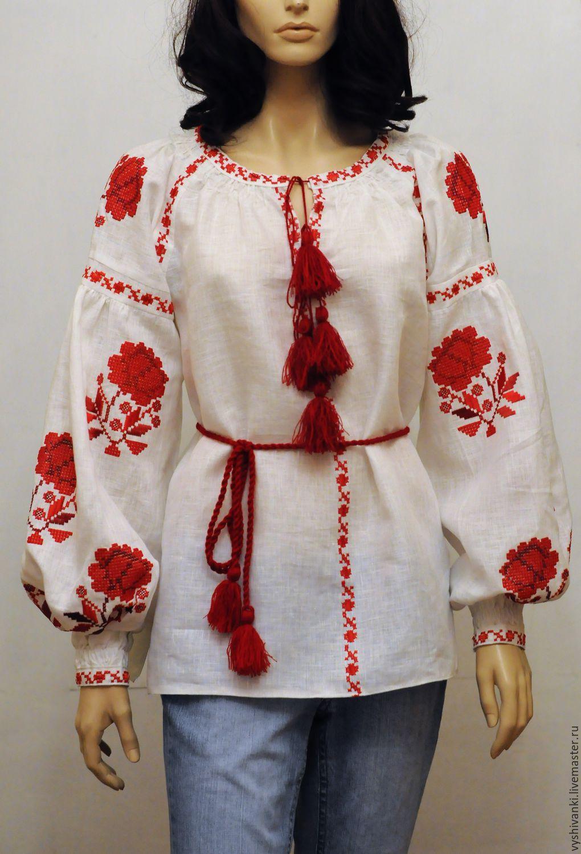 Красивая блузка с цельнокроеными 55