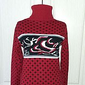 Одежда handmade. Livemaster - original item Sweater dress. Handmade.