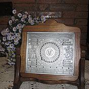 Винтаж ручной работы. Ярмарка Мастеров - ручная работа Антикварный настольный кабинетный календарь форма Anno Domini Германия. Handmade.