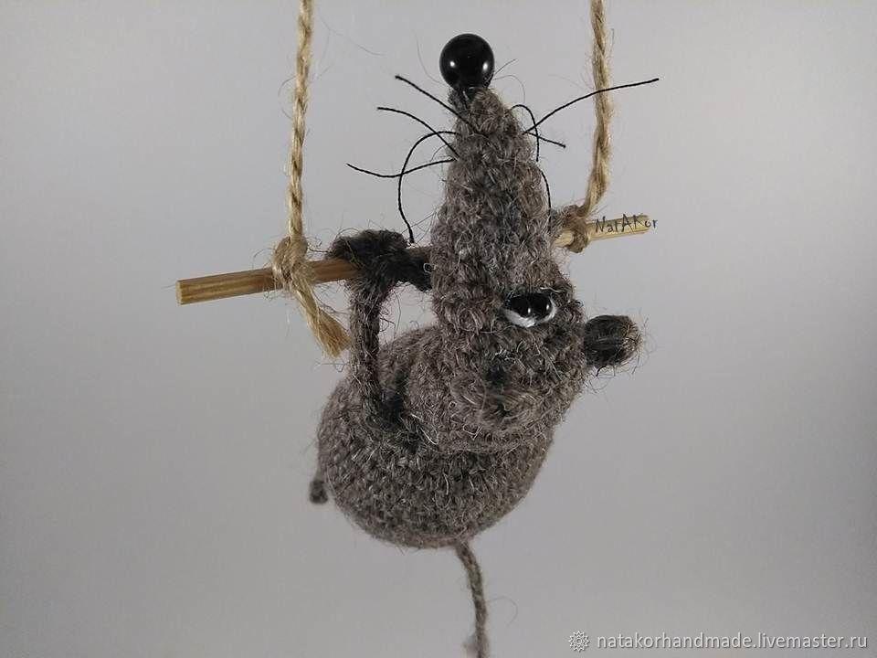 Крыс Мышь -символ 2020 года, Мягкие игрушки, Гаврилов-Ям,  Фото №1