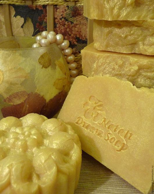 """Мыло ручной работы. Ярмарка Мастеров - ручная работа. Купить Кастильское """"Мимоза""""  Натуральное мыло с нуля. Handmade. Лимонный"""