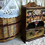 Для дома и интерьера ручной работы. Ярмарка Мастеров - ручная работа БАБУШКИН БУФЕТ (для чайных пакетиков). Handmade.