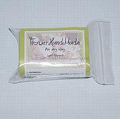 Материалы для творчества ручной работы. Ярмарка Мастеров - ручная работа ГЛ024 FlowerHandMade (зелёная глина),самозатвердевающая японская глина. Handmade.